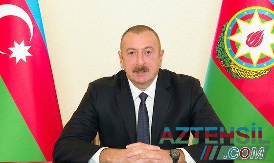 İlham Əliyev Füzuli rayonuna getdi (VİDEO)