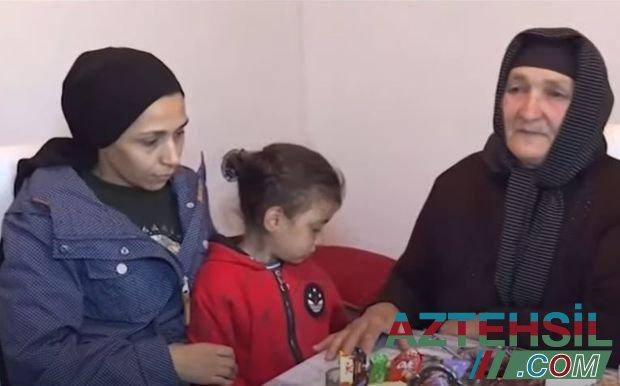 Şəhid Cavid Sahratovun evindən reportaj - VİDEO