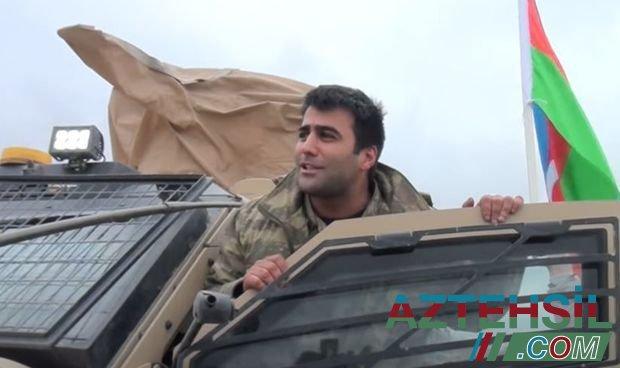 Şanlı ordumuzun qalib əsgərləri geri qayıdırlar - VİDEO