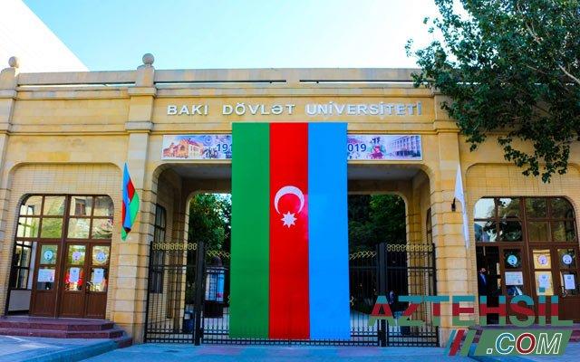 Azərbaycan bayrağına hörmətsizlik edən tələbə BDU-dan qovuldu - RƏSMİ