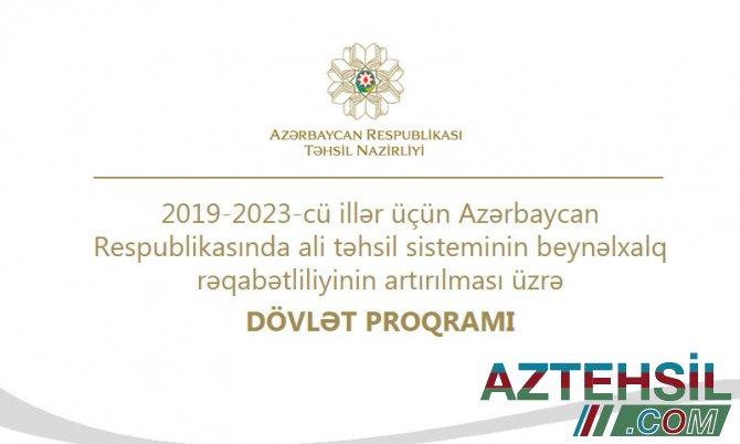 2021-ci il yaz semestri üçün xaricdə doktorantura təhsili üzrə sənəd qəbuluna start verilir