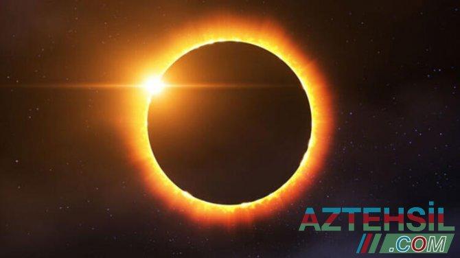 2 Günəş və 2 Ay tutulması hadisəsi baş verəcək