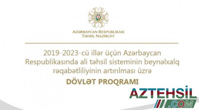 2021-ci il yaz semestri üçün xaricdə doktorantura təhsili üzrə sənəd qəbulu davam edir
