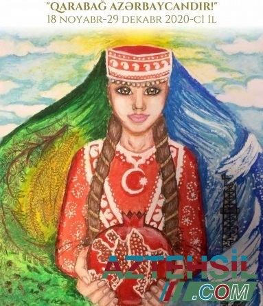 Beynəlxalq uşaq rəsm müsabiqəsi: Qarabağ Azərbaycandır!