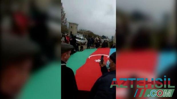 23 gün komada qalan əsgər ayılıb - VİDEO