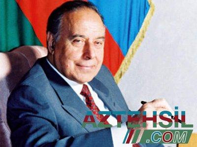 Azərbaycan xalqının əbədiyaşar Ümummilli Lideri !