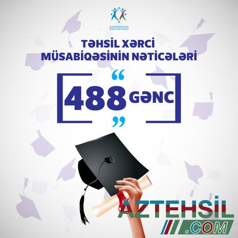 Daha 488 tələbə təhsil haqqından azad edildi