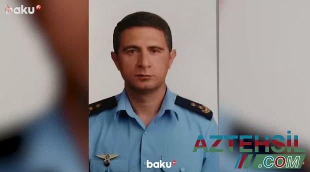 Döyüş yoldaşlarını vurulmuş helikopterdən xilas edən şəhid pilotumuz - VİDEO