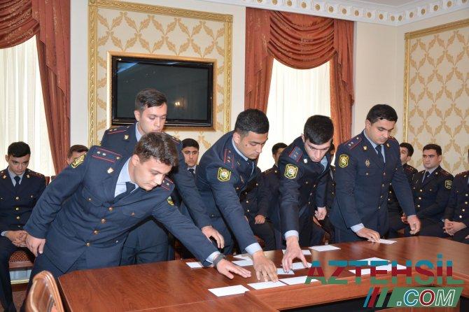 Polis Akademiyasına kursant qəbulu – ELAN