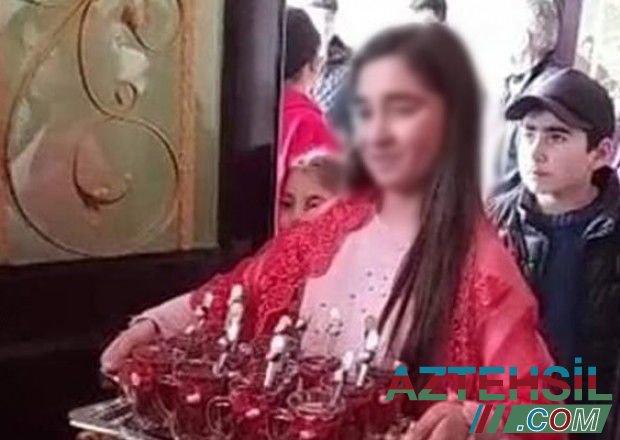 Nişan mərasimi keçirilən 11 yaşlı azərbaycanlı qızla bağlı TƏFƏRRÜAT - VİDEO