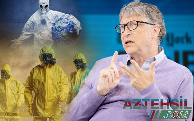 Bil Qeytsdən koronavirusdan sonra dünyanı gözləyən ikinci fəlakət haqqında danışdı