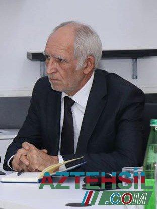 Nadir İsrafilov: Biz distant təhsilə məqsəd yox, vasitə kimi baxmalıyıq.