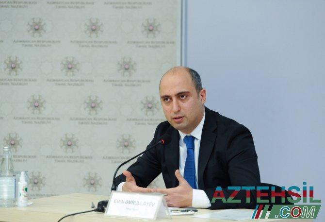 """Emin Əmrullayev: """"Ali məktəblərə """"Tədqiqat universiteti"""" statusu veriləcək"""""""