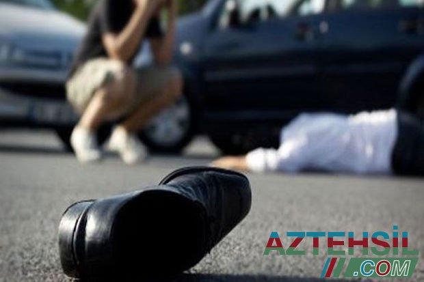 Ağdaşda avtomobil 16 yaşlı məktəblini vuraraq öldürdü – VİDEO