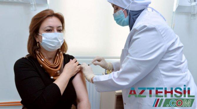 BŞTİ-nin kollektivi vaksinasiya prosesinə qoşulub