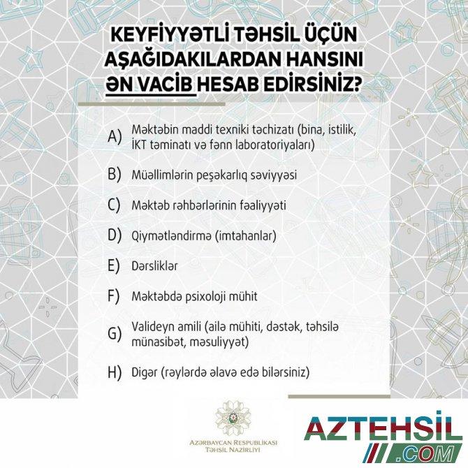 """Emin Əmrullayev: """"Təhsil ictimaiyyətinin fikrini öyrənmək faydalıdır"""" - FOTO"""
