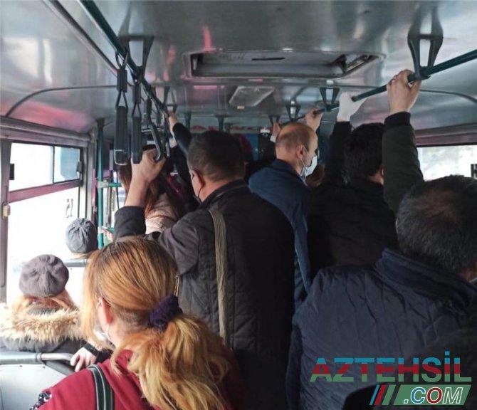 Həkim: Avtobuslarda 15 dəqiqəyə hər kəs yoluxa bilər - VİDEO