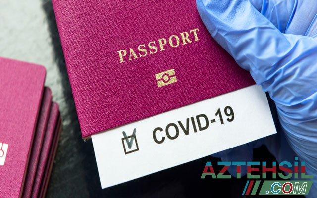 ÜST-dən peyvənd pasportlarına dair QƏRAR