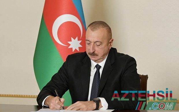 Azərbaycan Respublikası Prezidentinin Sərəncamı