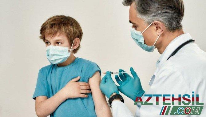 Britaniya uşaqların kütləvi vaksinasiyasından imtina edir