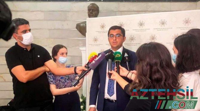 MİQ imtahanları ilə bağlı ARTİ-nin direktoru Rüfət Əzizov mətbuata açıqlama verib
