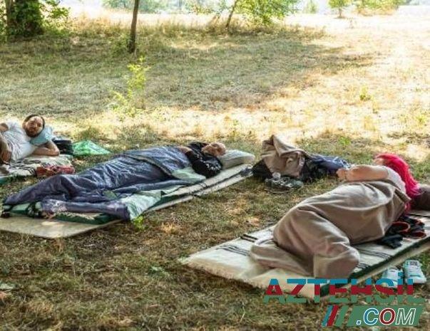 Monteneqroda tənbəllik festivalı: Ən çox yatan qazanır