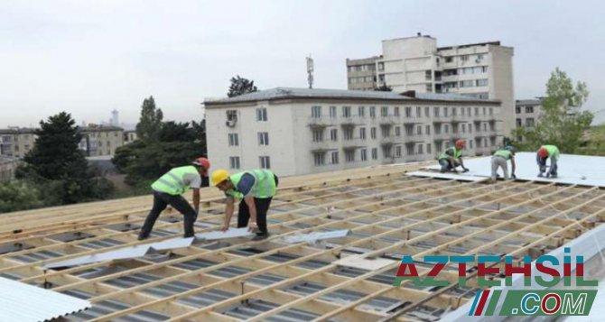 Paytaxtda 8 yeni məktəb binası inşa olunur