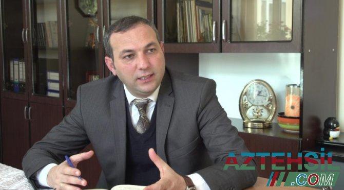 """Niyazi Şərifsoy: """"Təhsil müəssisələrinin nəticələri arasında ciddi fərq var"""""""